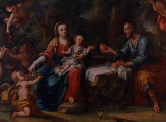 Magatta, Riposo durante la fuga in Egitto (XVIII sec.)