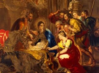 Rubens, Arazzo della Natività (XVII sec)