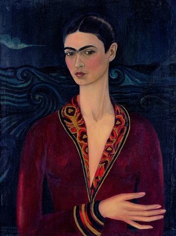 Autoritratto con vestito di velluto, 1926