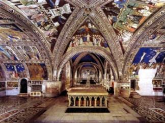 giotto-basilica inferiore assisi