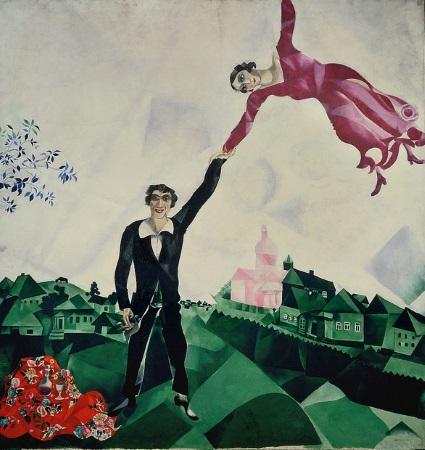 chagall passeggiata