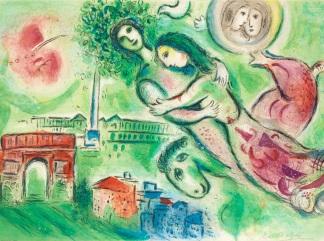 chagall romeo-giulietta