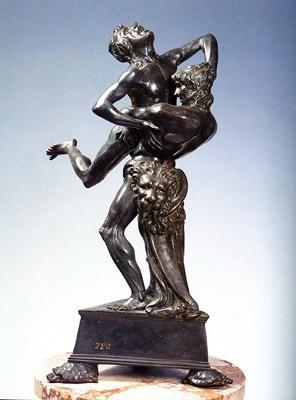 bronzetto-ercole-e-anteo scultura-bargello