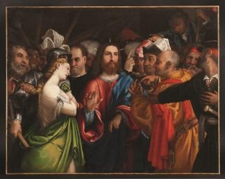 cristo-adultera