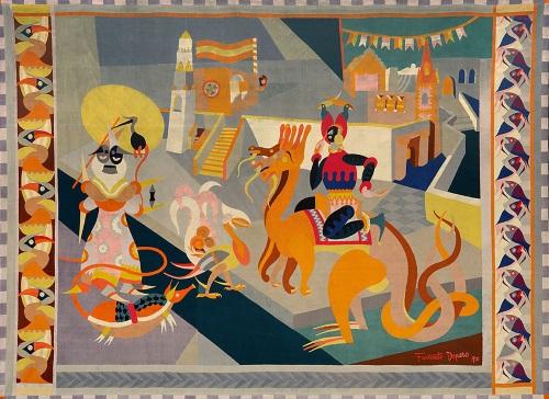fortunato-depero cavalcata-fantastica-1920