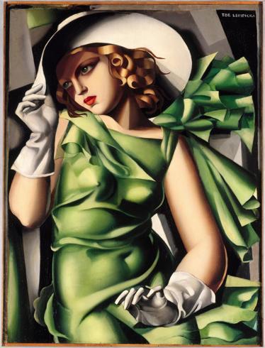 lempicka jeune-fille-en-vert