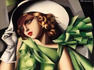 lempicka jeune-fille-en-vert324