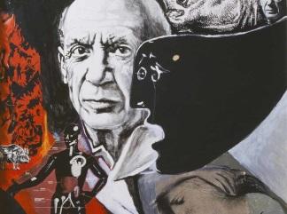 guttuso-lamento morte Picasso
