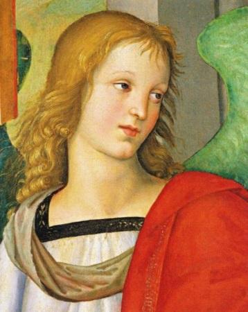 to raffaello busto-di-angelo