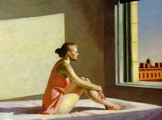 hopper morning-sun