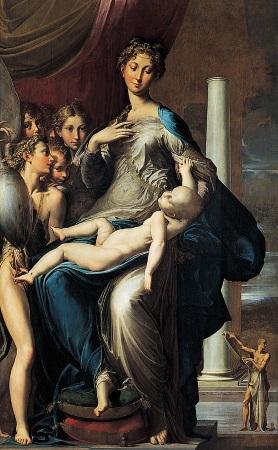 parmigianino madonna collo-lungo