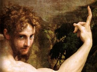 parmigianino visione di san girolamo