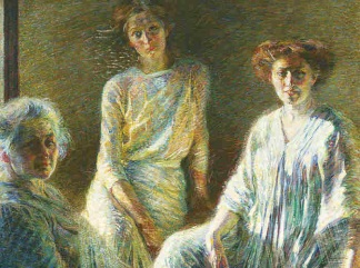 Boccioni-Tre donne Three Women 1909-1910 - 324x241