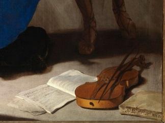 Cavallino Particolare di Santa Cecilia in estasi 1645-324x241