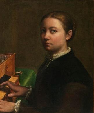 Sofonisba Anguissola Autoritratto alla spinetta-1559-324x387 - Copia