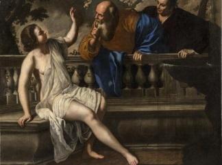 artemisia gentileschi onofrio palumbo susanna e i vecchioni 1652 bologna collezioni della pinacoteca nazionale polo museale dell emilia romagna gallery - 2