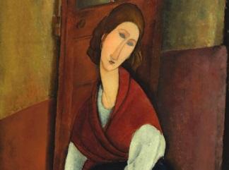 Amedeo Modigliani - Portrait de Jeanne H buterne-324-241