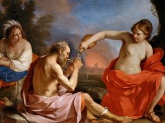 Guercino Loth e- le figlie-324-241