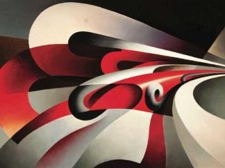 Tullio-Crali le forze della curva 1930