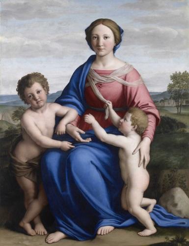 Madonna col Bambino e san Giovannino Brescia