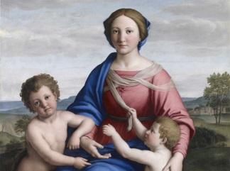 madonna col bambino e san giovannino brescia - 324-241