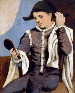 arlecchino-con-specchio-1923