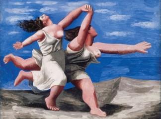 pablo-picasso deux-femmes-courant-sur-la-plage-1922 - 324 241
