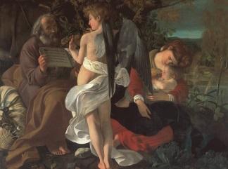 Riposo durante la fuga in Egitto 1597