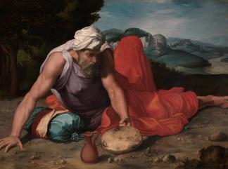 daniele-da-volterra il-profeta-elia-nel-deserto 1550-ca