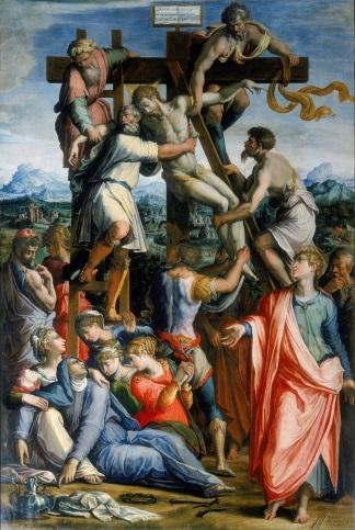 giorgio-vasari deposizione dalla-croce-1539-1549