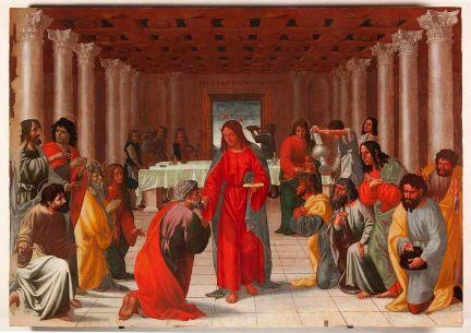Cola dell Amatrice Istituzione dell Eucarestia - 432-305