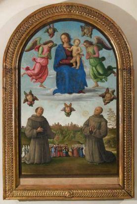 Perugia  Galleria Nazionale dell Umbria  Perugino  Gonfalone della Giustizia