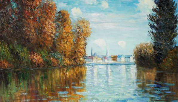 Claude Monet, Autumn At Argenteuil,1873