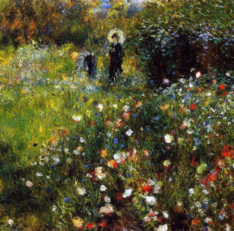 Pierre Auguste Renoir, Paesaggio estivo