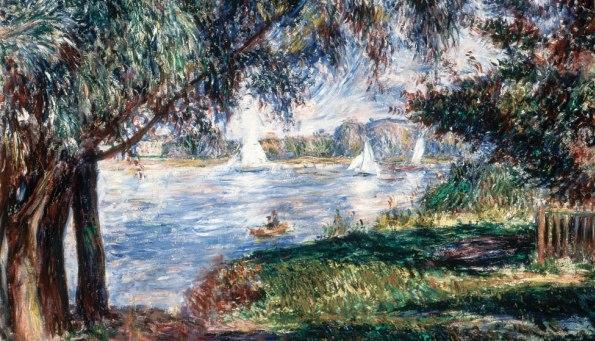 Pierre Auguste Renoir, Bougival, 1888