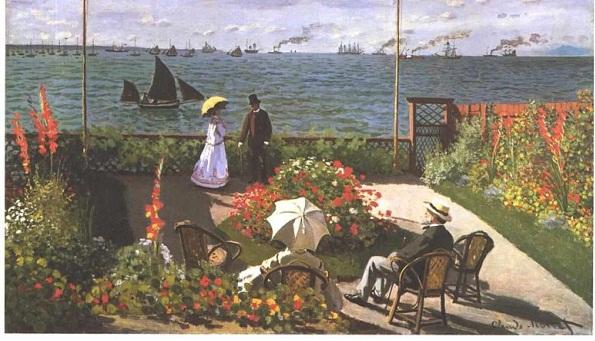 Claude Monet, Terrazze di Saint-Adresse