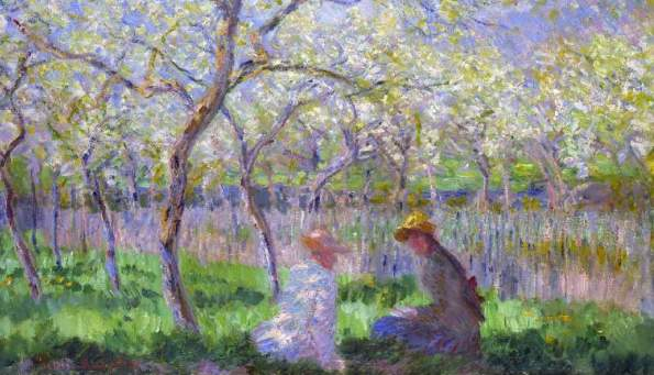 Claude Monet, Primavera-Primtemps, 1872